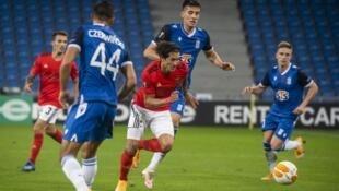 Darwin Núñez - Uruguai - Futebol - Desporto - Liga Europa - Lech - SL Benfica - Portugal - Football