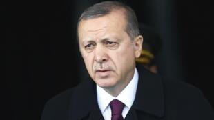 ប្រធានាធិបតីតួកគី លោក Recep Tayyip Erdogan