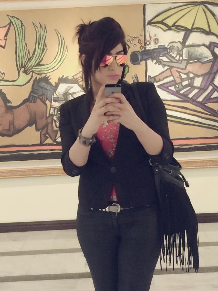 Ảnh tự chụp của Qandeel Baloch đăng trên Facebook