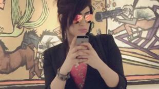 La starlette des réseaux sociaux Qandeel Baloch a été étranglée, à Multan, au Pakistan. Ici, un selfie de la jeune femme sur sa page Facebook.