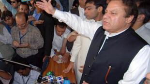 PML-N leader Nawaz Sharif