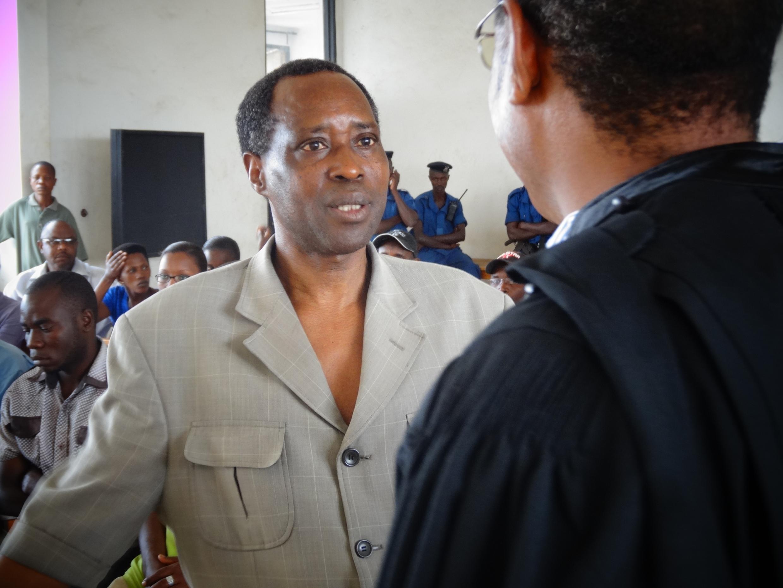 Léonce Ngendakumana, candidat du parti Frodebu à la présidentielle de 2020 au Burundi.