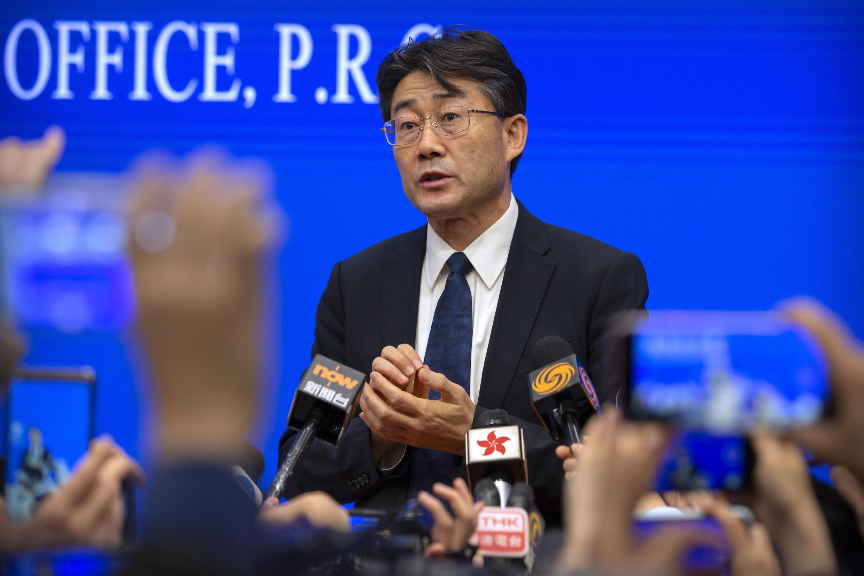Image d'archive RFI : Gao Fu, le directeur du Centre de contrôle et de prévention des maladies en Chine