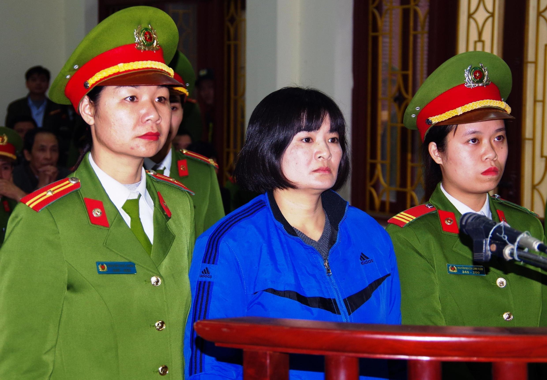 L'activiste vietnamienne Tran Thi Nga.