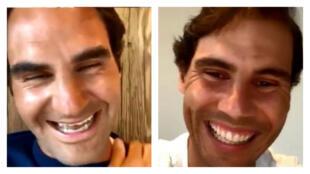 Les deux superstars du tennis, Roger Federer et Rafael Nadal, ont participé à un live Instagram plein de naturel qui a fait le buzz.
