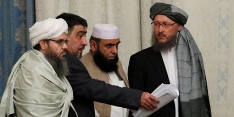 گروهی از نمایندگان طالبان