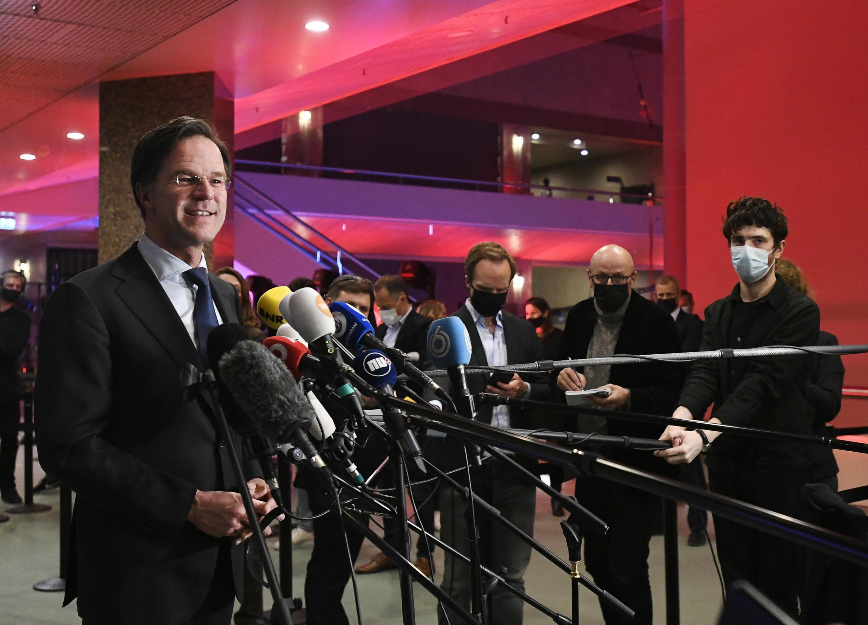 Pays Bas Mark Rutte Premier ministre