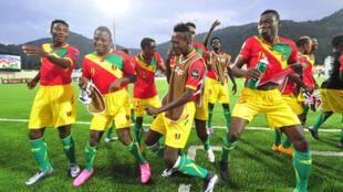 L'équipe de Guinée.