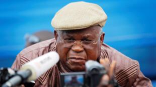 Etienne Tshisekedi, à Kinshasa, le 26 novembre 2011.