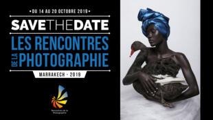 Affiche des rencontres de la photographie à Marrakech.
