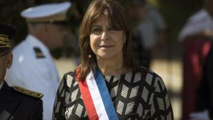 La maire de Marseille Michèle Rubirola lors des cérémonies du 14 juillet 2020 de la cité phocéenne.