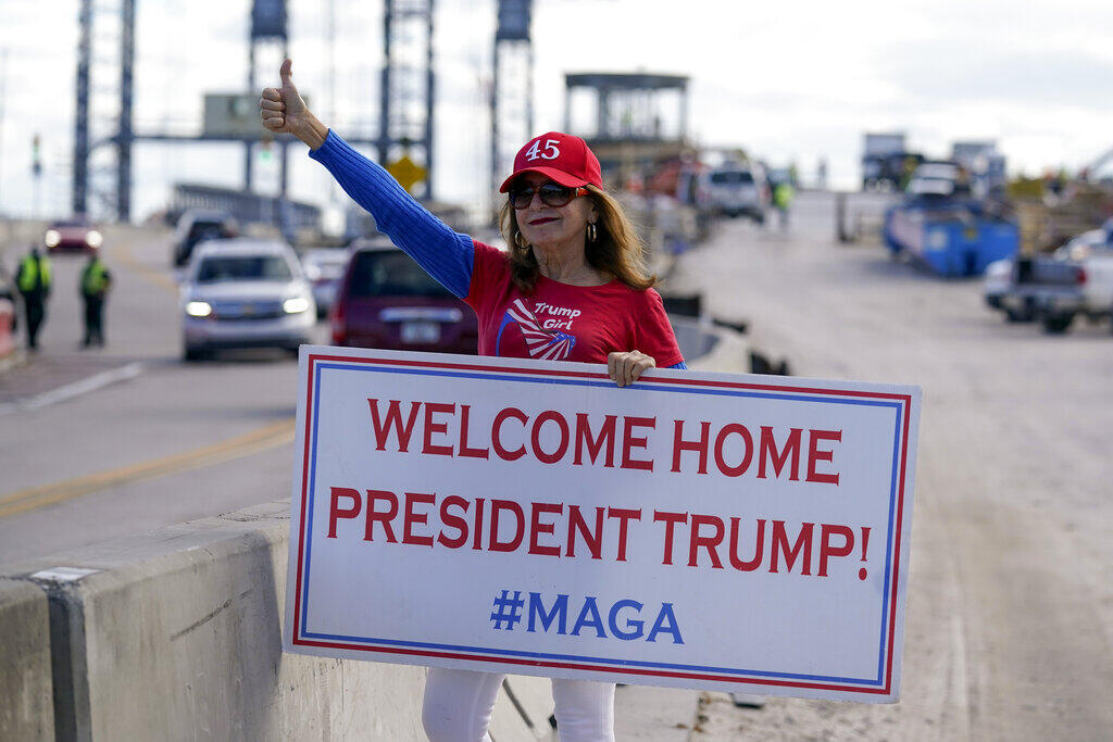 USA - Donald Trump - fan - Mar-a-Lago - Florida