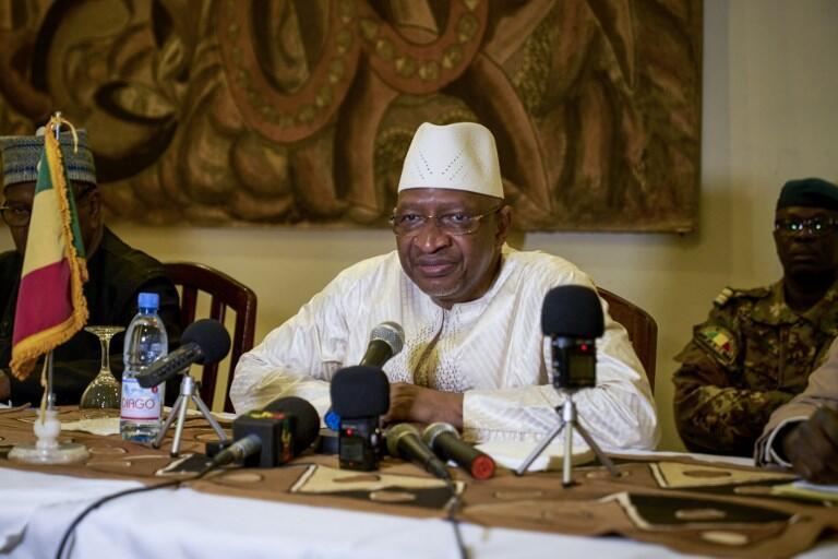 Le Premier ministre malien Soumeylou Boubèye Maïga en octobre 2018 à Mopti.
