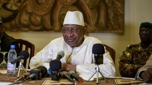 Le Premier ministre malien Soumeylou Boubèye Maïga, en octobre 2018, à Mopti.