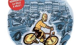 """Détail de la couverture """"Petit traité de vélosophie"""", de Didier Tronchet."""