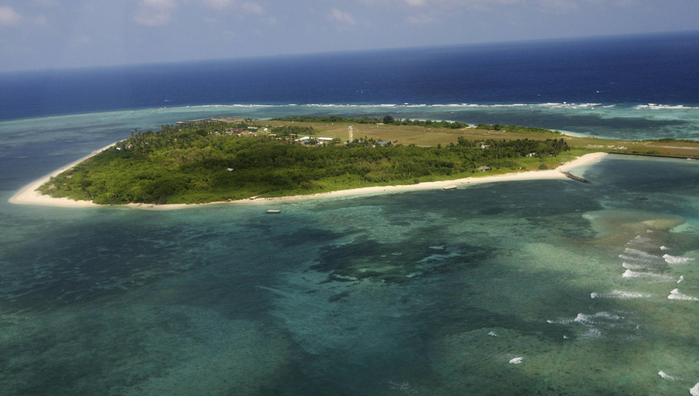 Đảo Thị Tứ trong quần đảo Trường Sa, vùng lãnh hải tranh chấp giữa Trung Quốc, Đài Loan, Philippines và Việt Nam.