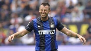 Antonio Cassano Dan wasan Inter Milan