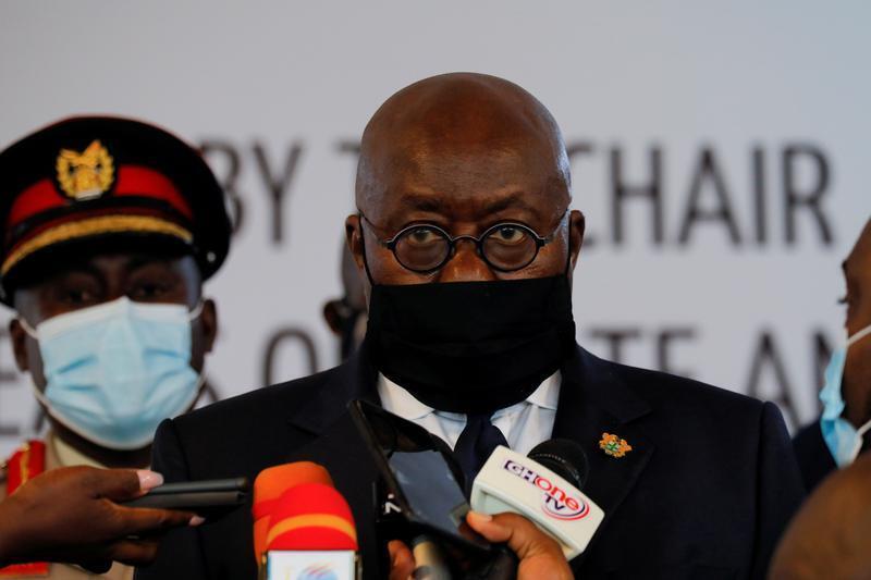 Shugaban kasar Ghana Nana Akufo-Addo.