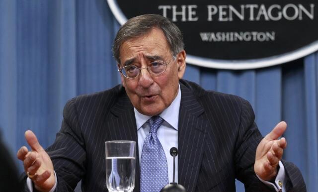 Bộ trưởng Quốc phòng Mỹ Leon Panetta, tại Lầu Năm Góc, ngày 26/01/2012.