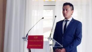 法国蔚蓝海岸旅游局 CRT Côte d'Azur为刘烨举行新闻发布会