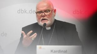 El arzobispo de Múnich, el cardenal Reinhard Marx, el 25 de septiembre de 2018 en Fulda, Alemania.