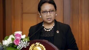 印尼外交部長勒特諾檔案照