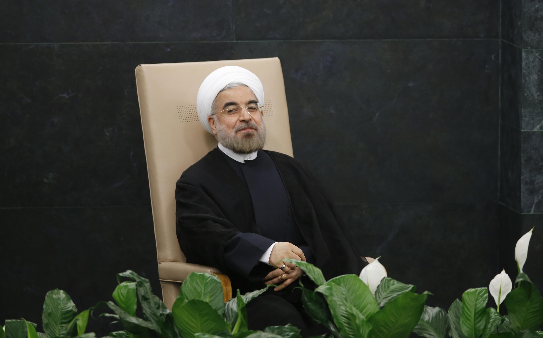 O presidente iraniano Hassan Rohani