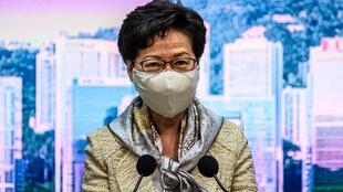Carrie Lam, 2020.