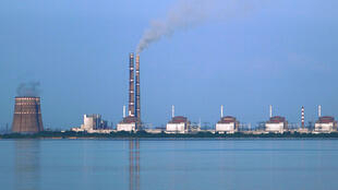 La centrale nucléaire de Zaporijia (Ukraine).