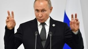 Conspiracy theories have long circulated suggesting that Putin had died and been replaced by a lookalike