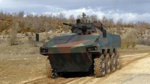 """БМП """"Атом""""  Renault Trucks Defense, проект производства которой совместно с """"Уралвагонзаводом"""" приостановила компания Volvo"""
