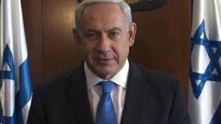 O primeiro-ministro israelense, Benjamin Netanyahu.