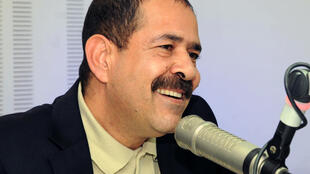 Chokri Belaïd, fin 2012 à Tunis, quelques mois avant sa mort le 6 février 2013.