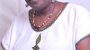 Oluremi Sonaiya, the only woman in the race to become the next president of Nigeria.