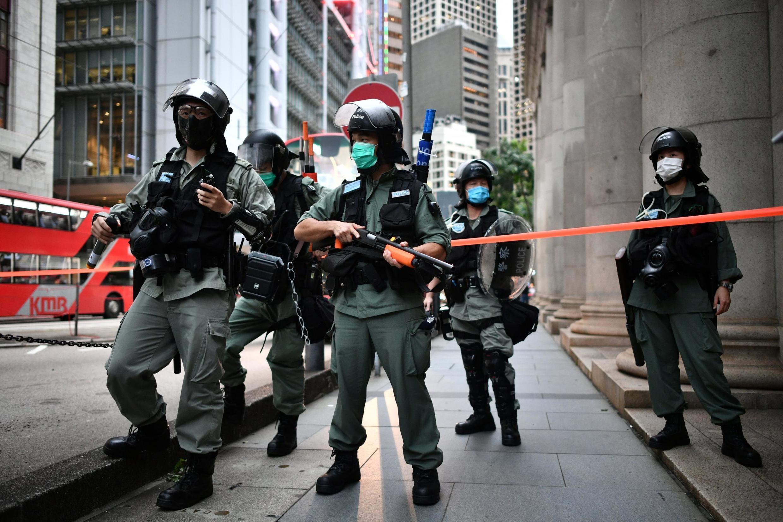 Jami'an tsaron China a Hong Kong