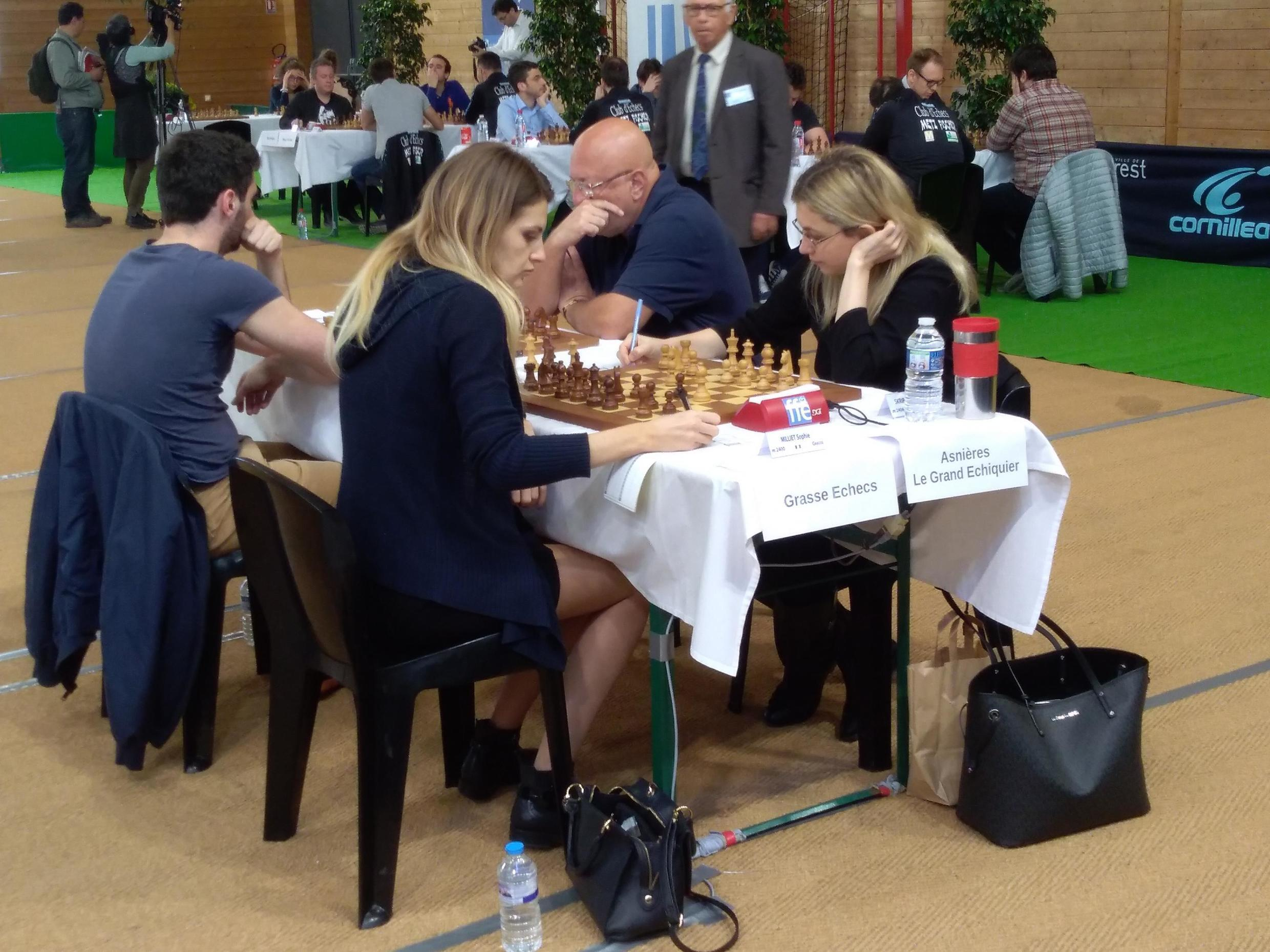 Top Twelve club chess tournament in Brest, France