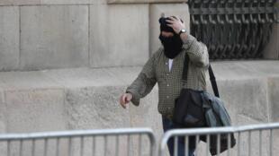 Joaquim Benitez à son arrivée à son procès.