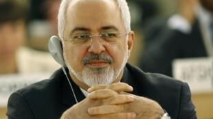 محمدجواد ظریف، وزیر امور خارجه جمهوری اسلامی ایران، روز دوشنبه ١١ اسفند، در بیست و هشتمین نشست شورای حقوق بشر سازمان ملل در ژنو .