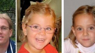 As gêmeas foram vistas ela última vez próximo da residência do pai, Matthias Schepp, na Suiça.