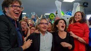 پیروزی بزرگ سبزهای آلمان در انتخابات پارلمان اروپا
