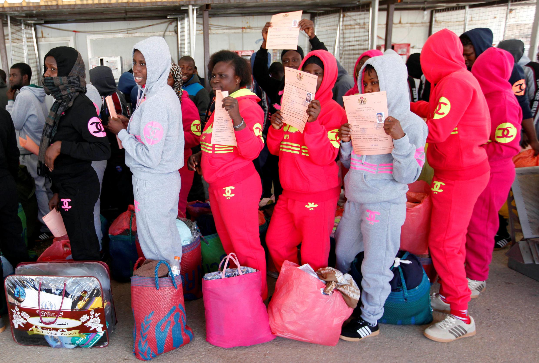 Libya na taso keyar 'Yan Afrika da ke kokarin tsallakawa zuwa Turai