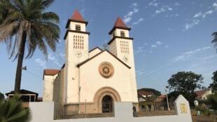 La cathédrale de Bissau, le 11 novembre 2019.