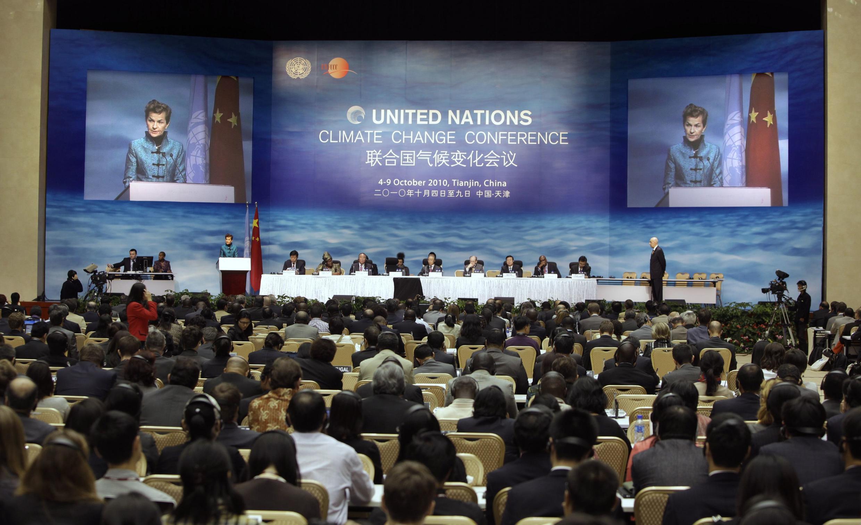 A última reunião preparatória para a COP 16, a Conferência do Clima das Nações Unidas aconteceu em Tianjin, na China