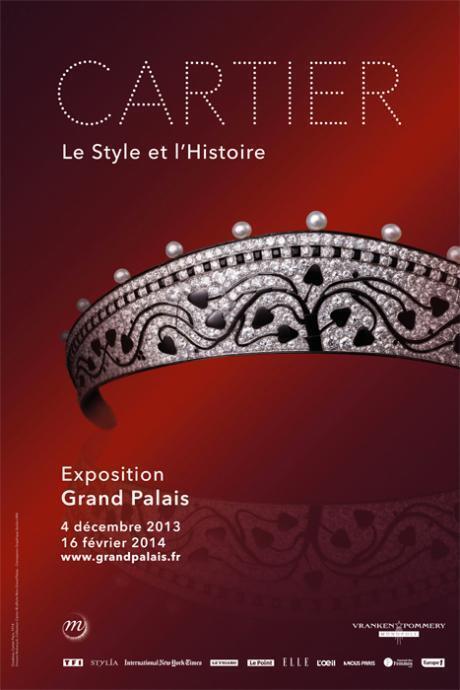 """在巴黎大皇宮舉辦""""卡地亞:風格史詩""""(Cartier:le style et l'hisoire)展覽"""