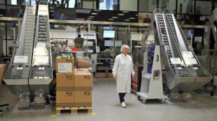Một nhà máy sản xuất insuline của tập đoàn Đan Mạch Novo Nordisk tại Chartres, Pháp. Ảnh chụp ngày 21/04/2016.