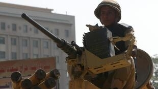 An Egyptian soldier