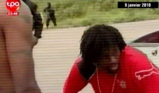 Emmanuel Adebayor choqué après l'attaque du bus togolais à Cabinda.