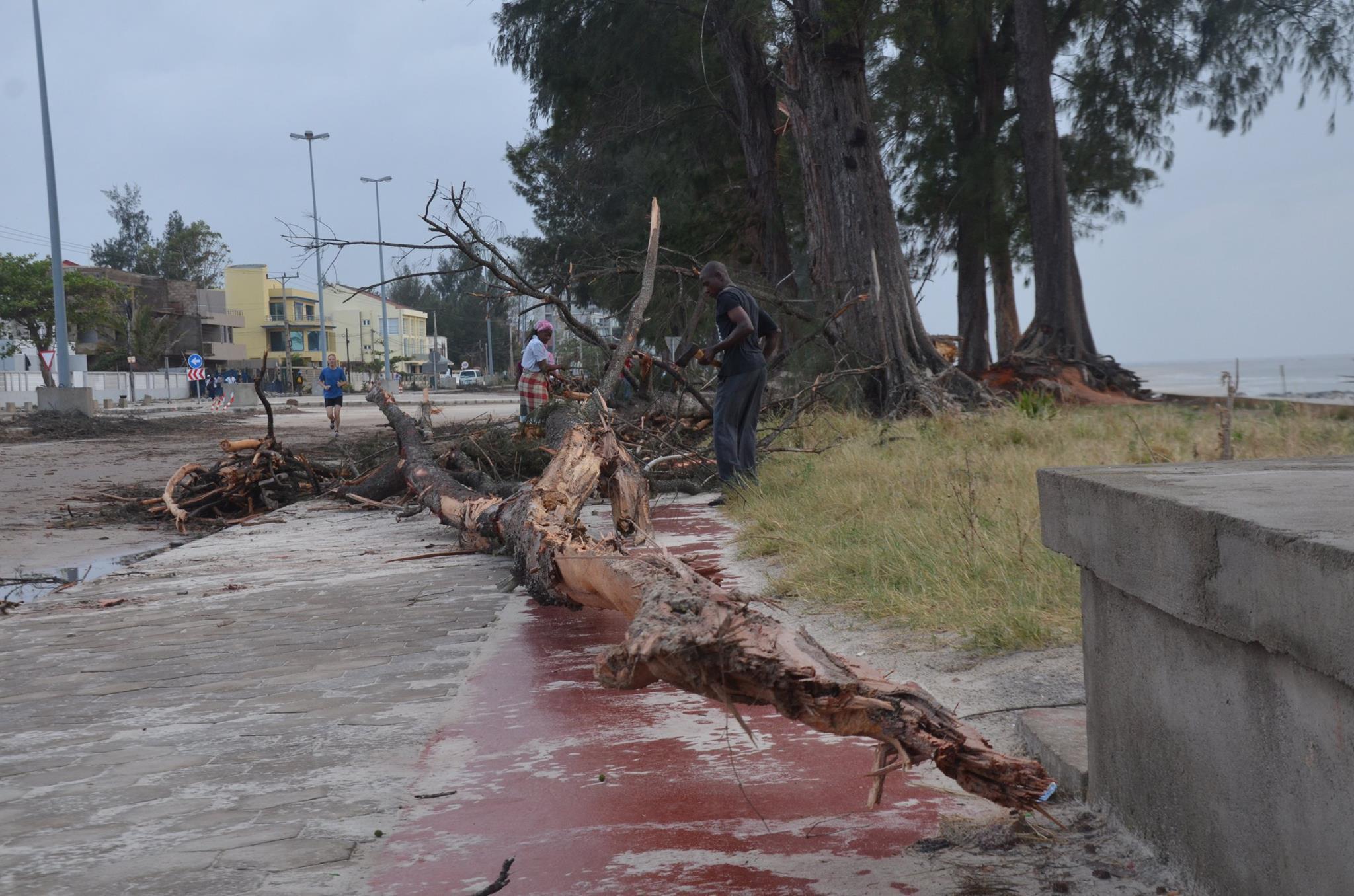 Há duas semanas, o mau tempo causou pelo menos 12 mortos em Maputo