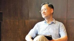 清华法学教授许章润资料图片