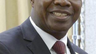 Albert Toikeusse Mabri, ancien ministre ivoirien des Affaires étrangères et président de l'Union pour la démocratie et la paix en Côte d'Ivoire (UDPCI).
